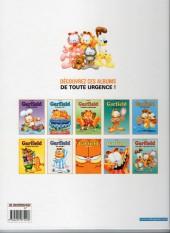 Verso de Garfield -25Ind2016- Garfield est sur la mauvaise pente