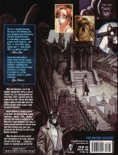 Verso de Blacksad (en anglais) -1USA- Somewhere within the shadows