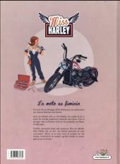 Verso de Miss Harley