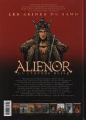 Verso de Les reines de sang - Aliénor, la Légende noire -5- Volume 5