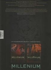 Verso de Millénium -INT2FL- Millénium, tomes 3 & 4