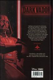 Verso de Star Wars - Dark Vador -3- Terreur dans les ténèbres