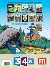 Verso de Les tuniques Bleues -12Été- Les Bleus tournent cosaques