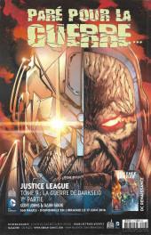 Verso de Justice League Univers -4- Numéro 4