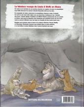 Verso de (AUT) Carmona - Le fabuleux voyage de Lisele & Wolfy en Alsace