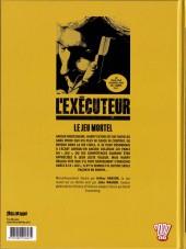 Verso de L'exécuteur -1- Le Jeu mortel
