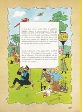Verso de Tintin - Publicités -10Total- L'Étoile mystérieuse