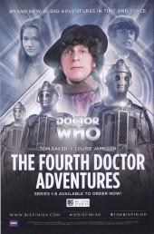 Verso de Doctor Who: The Fourth Doctor -1- Gaze of the Medusa - Part 1