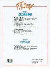 Verso de Gil Jourdan (Tout) -6a- Trois détectives