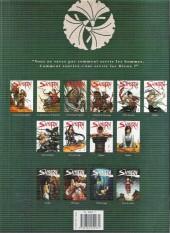 Verso de Samurai Légendes -4- Vents de colère