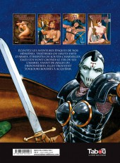 Verso de Orgies barbares -4- Orgies barbares IV