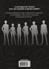 Verso de Psycho-Pass - Inspecteur Shinya Kôgami -1- Tome 1