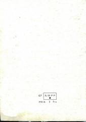 Verso de Spécial Strange -Rec03- Album N°3 (du n°7 au n°9)