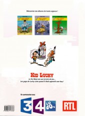 Verso de Kid Lucky -3Été- L'Apprenti cow-boy