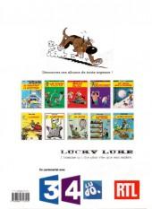 Verso de Lucky Luke -34Été- Dalton City