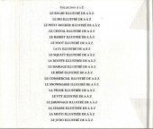 Verso de Illustré (Le Petit) (La Sirène / Soleil Productions / Elcy) -Compil2- Le Sport illustré de A à Z