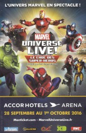 Verso de Marvel Universe (Panini - 2016) -3- What if ? Infinity