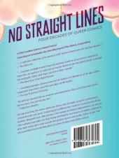 Verso de No Straight Lines: Four Decades of Queer Comics (2012) -INTa- No Straight Lines: Four Decades of Queer Comics
