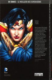 Verso de DC Comics - Le Meilleur des Super-Héros -22- Wonder Woman - L'Odyssée - 1re partie