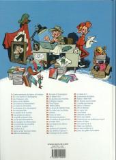 Verso de Spirou et Fantasio -3j14- Les chapeaux noirs et 3 autres aventures de spirou et fantasio