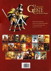 Verso de La geste des Chevaliers Dragons -22- La Porte du Nord