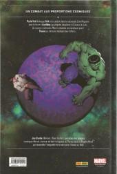 Verso de Thanos : La Trilogie de l'infini (2014) -HS01- Thanos vs Hulk : Le duel de l'infini