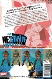 Verso de Nextwave: Agents of H.A.T.E. (2006) -INT01- This is What They Want
