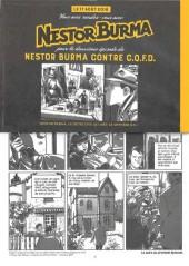 Verso de Nestor Burma (Feuilleton) -4- Nestor Burma contre C.Q.F.D. - Numéro 1