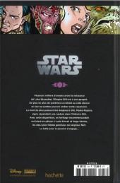 Verso de Star Wars - Légendes - La Collection (Hachette) -184- La Légende des Jedi - I. L'Âge d'Or des Sith