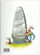 Verso de Astérix -28c2009- Asterix chez Rahãzade