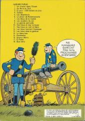 Verso de Les tuniques Bleues -12a1982- Les Bleus tournent cosaques