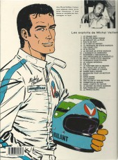 Verso de Michel Vaillant -10e1984- L'honneur du Samouraï
