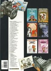 Verso de Spirou et Fantasio -38b2004- La jeunesse de Spirou