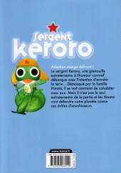 Verso de Sergent Keroro -26- Tome 26