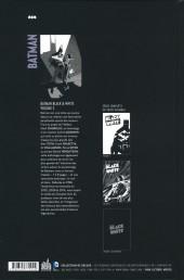 Verso de Batman : Black & White -2- Volume 2