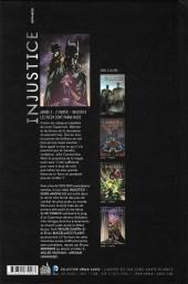 Verso de Injustice - Les Dieux sont parmi nous -6- Année 3 - 2e partie