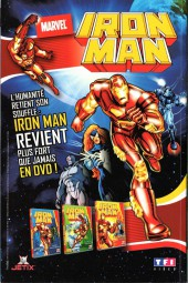 Verso de Marvel Icons Hors Série -9A- Programme éxécution