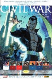 Verso de Marvel Icons Hors Série -11A- Comment j'ai gagné la guerre