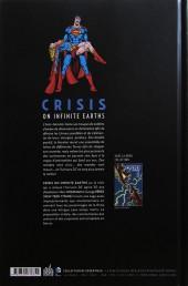 Verso de Crisis on infinite earths -INTa- Crisis on Infinite Earths