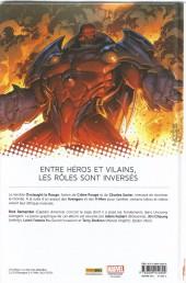 Verso de Avengers & X-Men : Axis -INT- Inversion