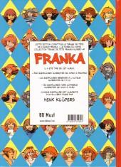 Verso de Franka (BD Must) -1TT17- Le musée du crime