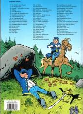 Verso de Les tuniques Bleues -19d12- Le david