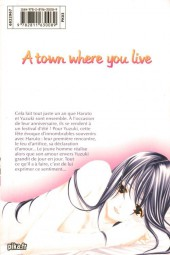 Verso de A town where you live -21- Tome 21