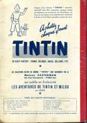 Verso de (Recueil) Tintin (Album du journal - Édition française) -5- Tintin album du journal