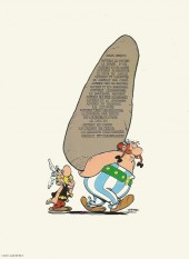Verso de Astérix -8c1978- Astérix chez les Bretons