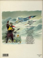 Verso de Tanguy et Laverdure -20'- Opération Tonnerre