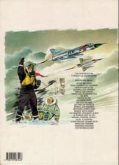 Verso de Tanguy et Laverdure -23'- Plan de vol pour l'enfer