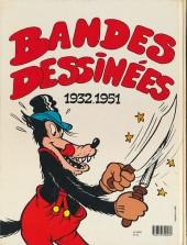 Verso de Bandes dessinées (Walt Disney) - 1932-1951