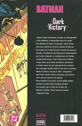 Verso de Batman : Dark Victory -3- Dark Victory 3