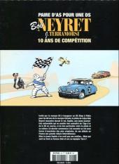 Verso de Les aventures de Bob Neyret, Gentleman Driver -2- Paire d'as pour une DS